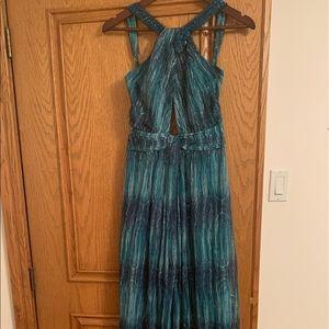 BCBG MAXAZRIA full length silk dress